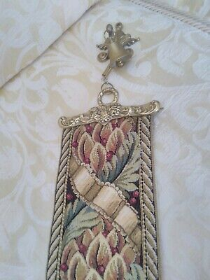 £15 • Buy Tapestry Bell Pull With Bell On Top.