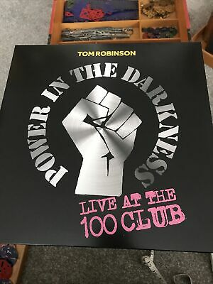 £14.99 • Buy Tom Robinson Power In The Darkness Live At 100 Club Lp
