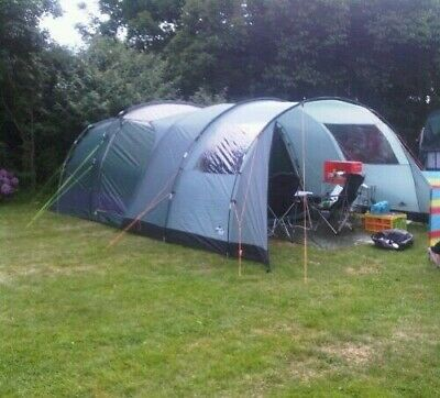 £40 • Buy Hi Gear Mojave 5, 5 Person Family Tent, In Green Used But In Good Condition