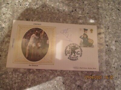 £12 • Buy Ian Botham Signed First Day Cover Cricket