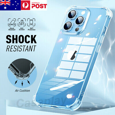 AU7.99 • Buy For IPhone 13 Pro Max 12 11 XR SE Crystal Clear Heavy Shockproof Case Cover
