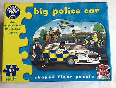 £0.99 • Buy Orchard Toys Big Police Car Puzzle