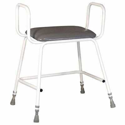 £89.99 • Buy Torbay Bariatric Perching Stool With Armrests - Q56634 Adjustable Height