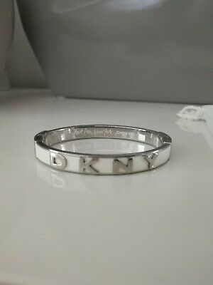 £39 • Buy Dkny Bracelet In A White And Silver Color. Rrp £102.00