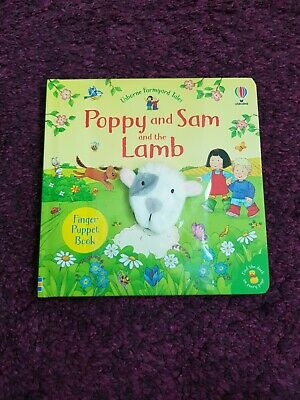 £4 • Buy Usborne Farmyard Tales Poppy And Sam And The Lamb Finger Puppet Book