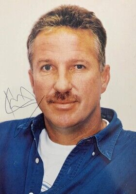 £9.99 • Buy Ian Botham HAND SIGNED 6x4 England Ashes Cricket Legend Photograph IN PERSON COA