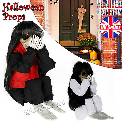 £10.50 • Buy Halloween Realistic Ghost Trembling Haunted House Props Party Decorations Crying