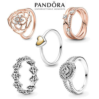 AU22.99 • Buy 2021 New Genuine Pandora Ring S925 ALE Sterling Silver & With Gift Pouch