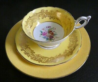£10.50 • Buy ANTIQUE EARLY 1900s COALPORT BONE CHINA TRIO CUP SAUCER & PLATE 10133/6