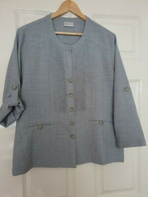 £7.50 • Buy Cotswold Collections Unlined, Grey Lightweight Jacket. Size 16