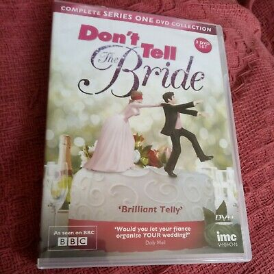 £1.50 • Buy Don't Tell The Bride Complete Series One 2 Disc DVD