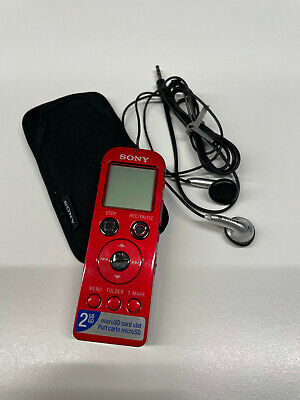 £40 • Buy Sony ICD-UX522 Handheld Digital Voice Recorder Dictaphone Dictation Machine