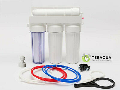 £82.95 • Buy Large 4 Stage Reverse Osmosis Water Filter RO System Pure Water Maker Aquarium