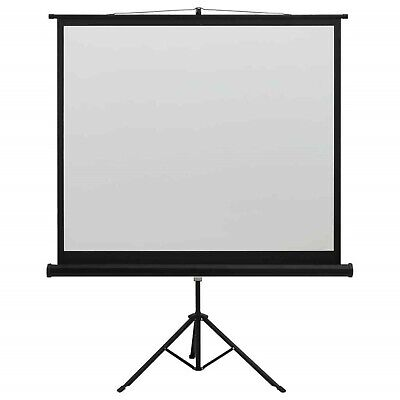 AU145.29 • Buy 60  Manual Projection Projector Screen With Stand 1:1 Home Cinema Display Tripod