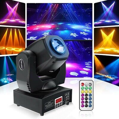 £118 • Buy 60W LED Moving Head Stage Lights Prism Effects With DMX512 Sound Activated Disco