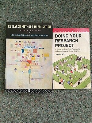 £3.50 • Buy Research Methods In Education & Doing Your Research Project - 2 X PB