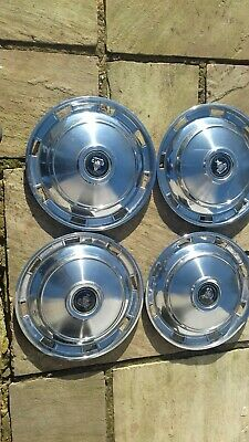 £75 • Buy Rover P4 Stainless Steel Wheel Trims (hubcaps?)