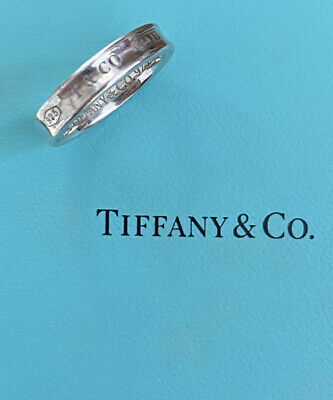 £39 • Buy 💕Sterling Silver 925 Tiffany & Co 1837 Ring Size L. Please See Description.💕