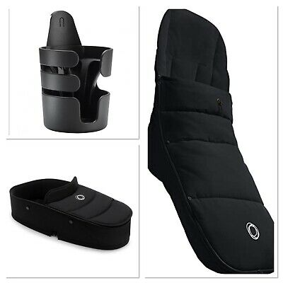 £150 • Buy Brand New Bugaboo Bee Bundle - Carrier, Footmuff & Cup Holder