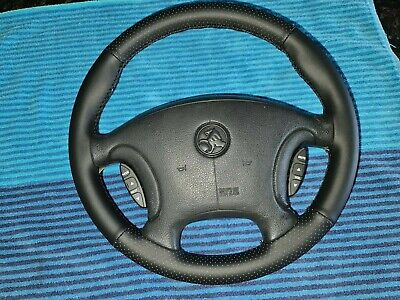 AU215 • Buy  VR VS Commodore SS, Style Leather Steering Wheel NON Air Bag Type No Switches