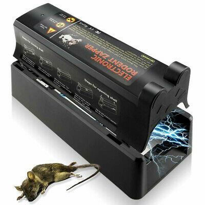 £20.99 • Buy Electronic Mouse Trap Victor Control Rat Killer Pest Electric Rodent Zapper UK T