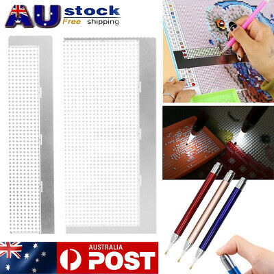 AU12.29 • Buy 5D Diamond Painting Tool Embroidery Art Painting Pen Accessories DIY Craft Ruler