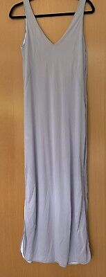£9.50 • Buy Versace Jeans Couture Dress, Pretty Lilac Colour, Fully Lined, Backless