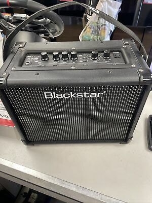 £31 • Buy Blackstar ID:Core 10 V2 Stereo Guitar Amp - Black With Charger