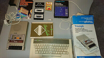 £31 • Buy Acorn Electron Complete With Tape Player, Games, Manual