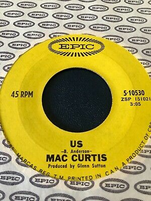 """£2.50 • Buy  MAC CURTIS - US / DON'T MAKE LOVE - 7"""" On EPIC RECORDS CANADA - EXCELLENT CON"""