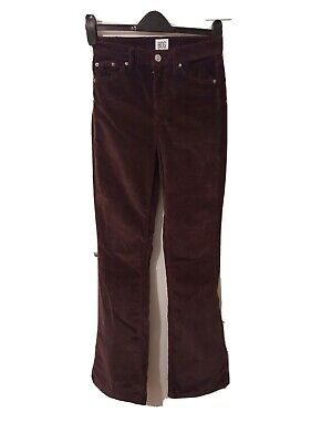 £6.50 • Buy Urban Outfitters BDG Waist 26 Leg 32 Brown Cord Flares