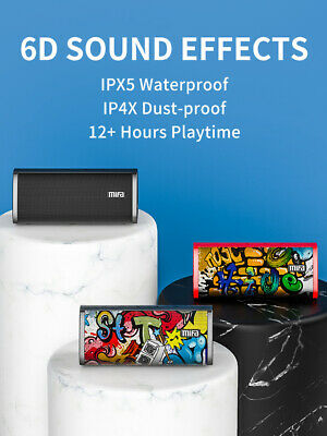 AU34.20 • Buy 6D Soundcore Portable Wireless Bluetooth Speaker Stereo With IPX5 Waterproof
