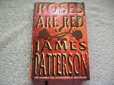 £9 • Buy JAMES PATTERSON - ROSES ARE RED. HARDBACK 1st Ed. FREE P&P.
