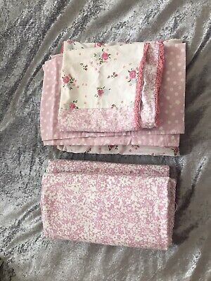 £10 • Buy Next-Girls Single Bedding Set With Curtains