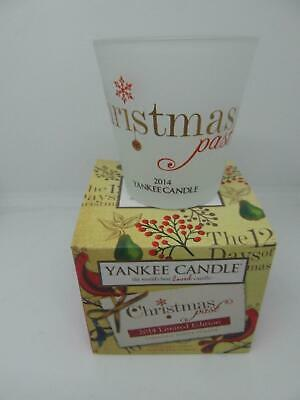£5 • Buy Yankee Candle Christmas Votive Holder Boxed Limited Edition 2014 *New*