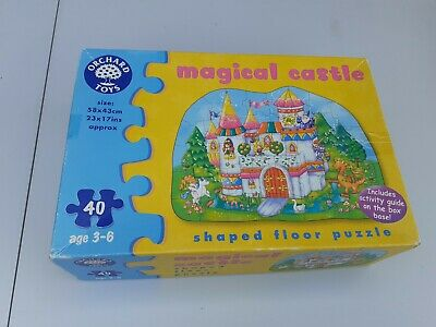 £3.50 • Buy MAGICAL CASTLE Shaped Floor Jigsaw Puzzle Orchard Toys Children's Kids 40 Pieces