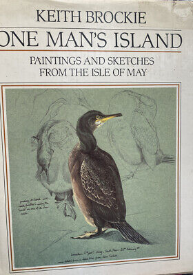£8.95 • Buy One Man's Island Paintings & Sketches From The Isle Of May By Keith Brockie