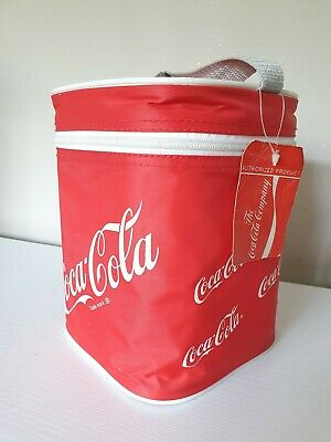 £27.99 • Buy Vintage  Retro Coca Cola Red Zip-Up Cool Bag 1990s Coke With Tags And Handle.