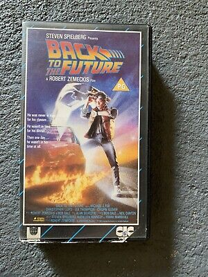 £3.90 • Buy BACK TO THE FUTURE CIC UK PAL VHS  VIDEO 1986 Michael J. Fox Spielberg