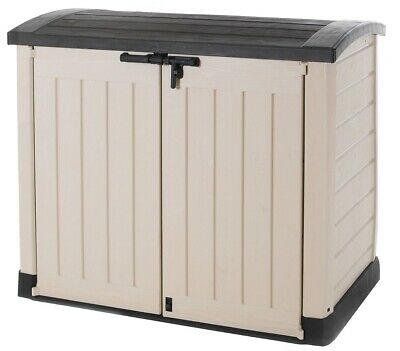 £188.90 • Buy Keter Store It Out Max 5x4ft Wheelie Bin Garden Storage Shed 1200L(2-Yr Guarante