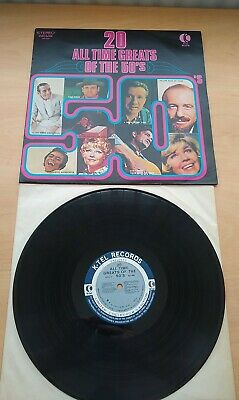 £6.99 • Buy 20 ALL TIME GREATS OF THE 50'S Vinyl Record Stereo K-Tel Records Used