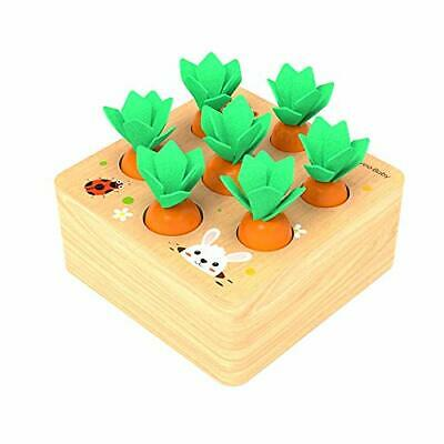 £20.05 • Buy Felly Wooden Toys For 1 Year Olds Toddler Fine Motor Skill Toy Montessori