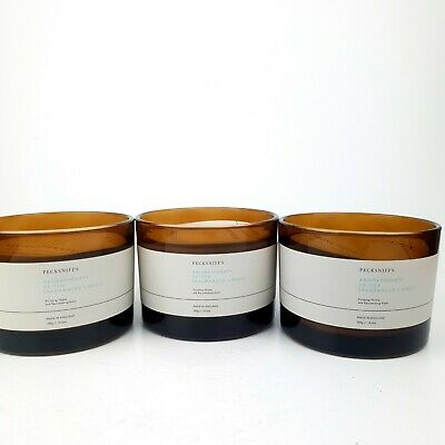 £10.50 • Buy 3x 300G Pecksniffs Aromatherapy Detox Candles RRP 90£ 3 Christmas Gifts Sorted!