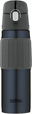AU25.79 • Buy Thermos Stainless Steel Vacuum Insulated Hydration Bottle, 530ml, Midnight Blue,