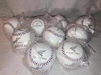 £32.67 • Buy LOT OF 9 EASTON 9  SOFT INCREDIBALL Training BASEBALL Softstitch Sealed In Bags