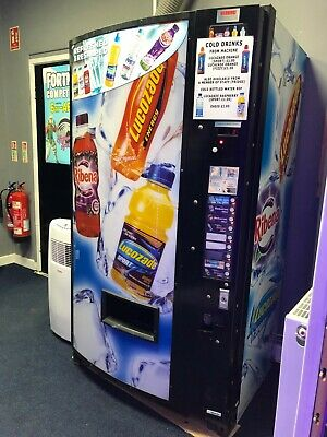 £100 • Buy Lucozade Cold Drinks Vending Machine, Works But Needs Attention, See Description