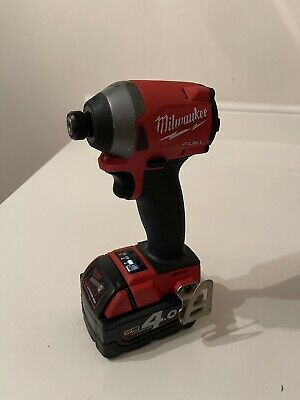 £92 • Buy Milwaukee 18v Fuel Impact Driver M18FID2-0 Cordless Gen II 1/4. Body And Battery