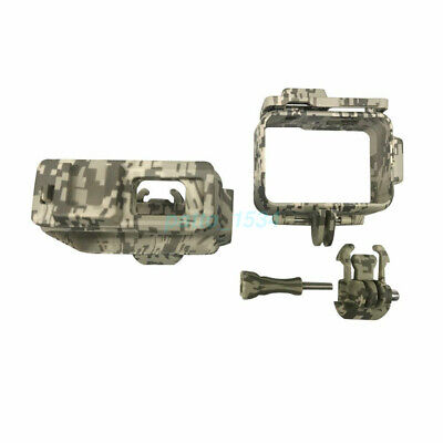 AU23.52 • Buy NEW Protective Camouflage Frame Case Hosuing Shell For GoPro 9 Action Camera