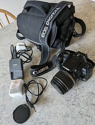 £129 • Buy Canon EOS 400D Digital Camera&Zoom18-55mm Lens Spare Battery&Charger& Carrycase