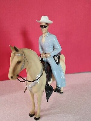 £35 • Buy Vintage Hartland Toys Lone Ranger Figure And Horse Collectable